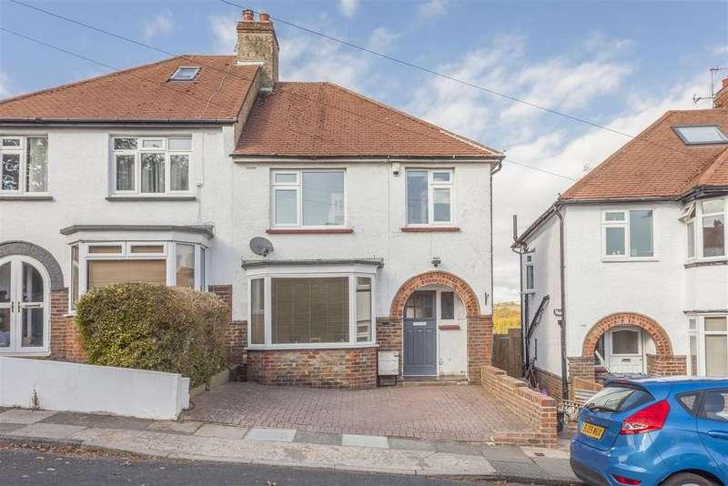 3 Bedrooms Semi Detached House for sale in Sharpthorne Crescent, Portslade, Brighton