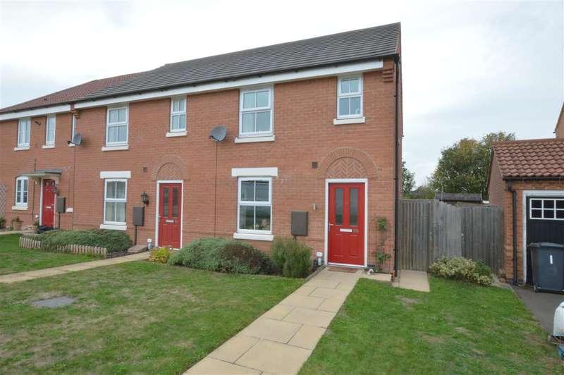 2 Bedrooms Semi Detached House for sale in Glengarry Way, Greylees, Sleaford