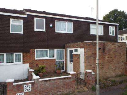 3 Bedrooms Terraced House for sale in Bromley Gardens, Houghton Regis, Dunstable, Bedfordshire