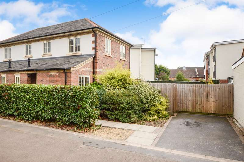 2 Bedrooms Semi Detached House for sale in Swan Street, Sileby, Loughborough