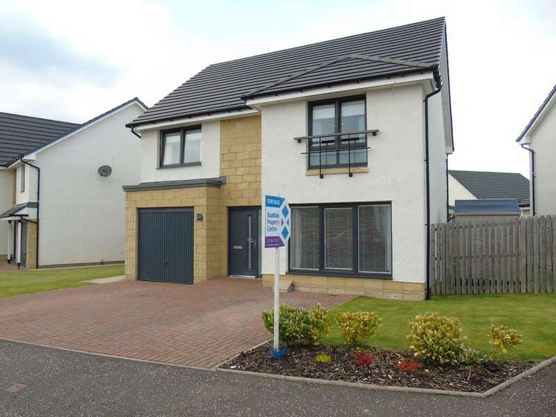 4 Bedrooms Detached House for sale in Cypress Road, New Stevenson, Motherwell, North Lanarkshire, ML1