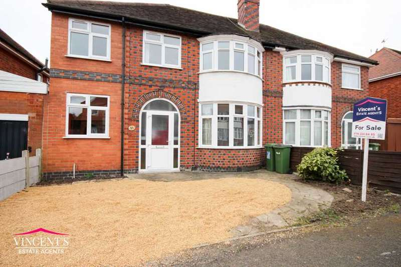 4 Bedrooms Semi Detached House for sale in Francis Avenue, Leicester
