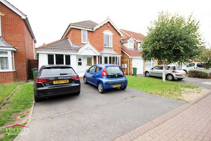 4 Bedrooms Detached House for sale in Cooke Close, Thorpe Astley, Leicester