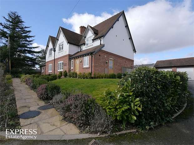 4 Bedrooms Semi Detached House for sale in Barton Road, Barton, Malpas, Cheshire