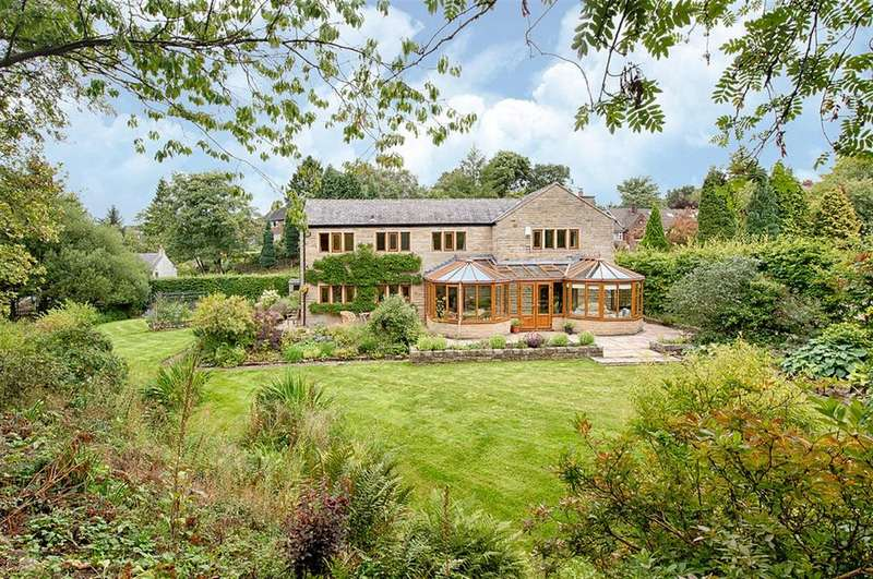 5 Bedrooms Detached House for sale in CHURCH HILL,Thornley Lane, Grotton, OL4 5RP