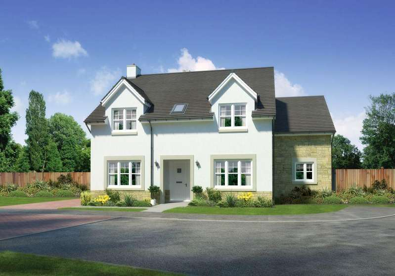 4 Bedrooms Detached House for sale in Plot 50- The Comrie,, Castle Gardens, Lempockwells Road, Pencaitland, EH34 5AF