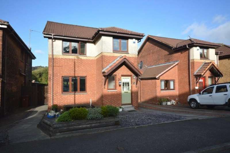 3 Bedrooms Detached House for sale in Oaktree Gardens,Dumbarton G82 1EU