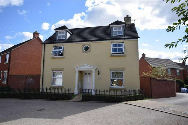 4 Bedrooms Detached House for sale in Bodenham Field, Abbeymead, Gloucester