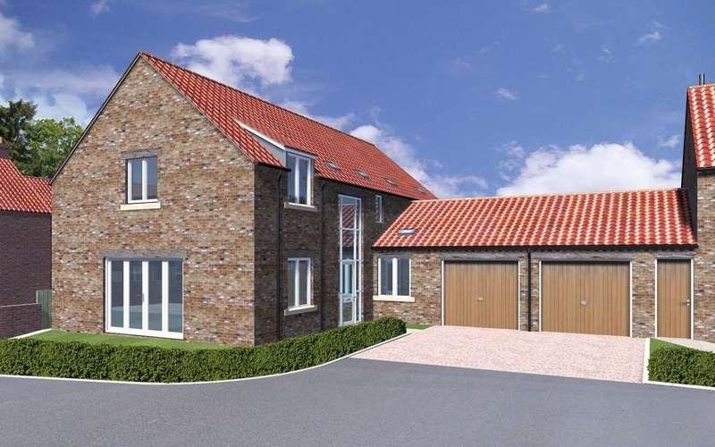 4 Bedrooms House for sale in **PART EXCHANGE CONSIDERED** The Lindley, Plot 9, Pecketts Yard, Sheriff Hutton, York