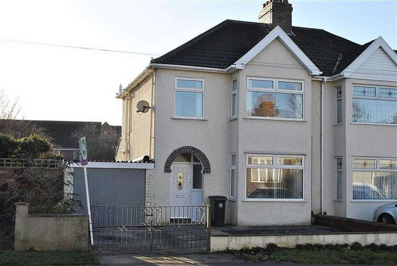3 Bedrooms Semi Detached House for sale in Ingleside Road, Kingswood, Bristol