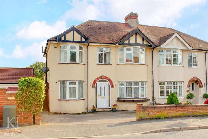 5 Bedrooms Semi Detached House for sale in Fanshawe Crescent, Ware -1930's Semi