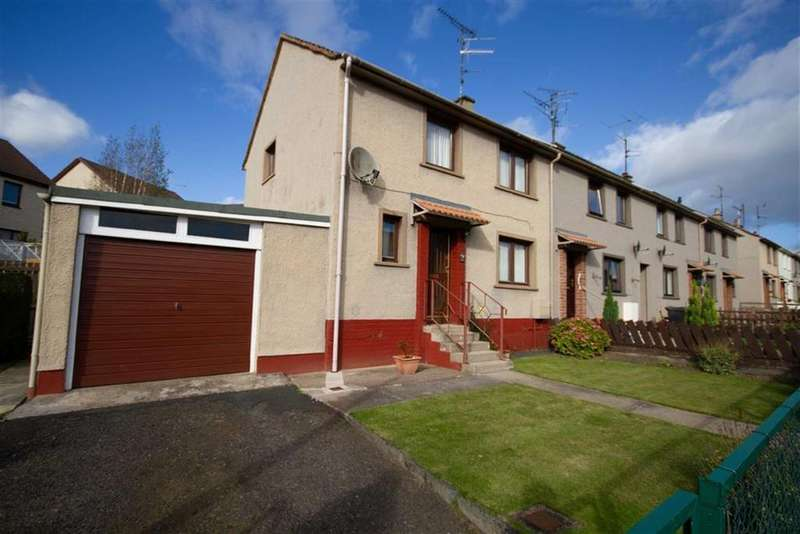 3 Bedrooms End Of Terrace House for sale in Home Place, Coldstream, Berwickshire, TD12