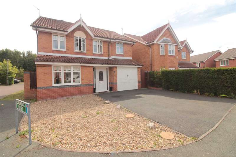 4 Bedrooms Detached House for sale in Elliot Drive, Kirkby