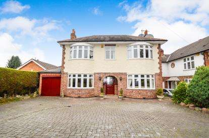 4 Bedrooms Detached House for sale in Wigston Road, Oadby, Leicester, Leicestershire