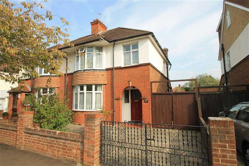 3 Bedrooms Semi Detached House for sale in Greenshields Road, Bedford