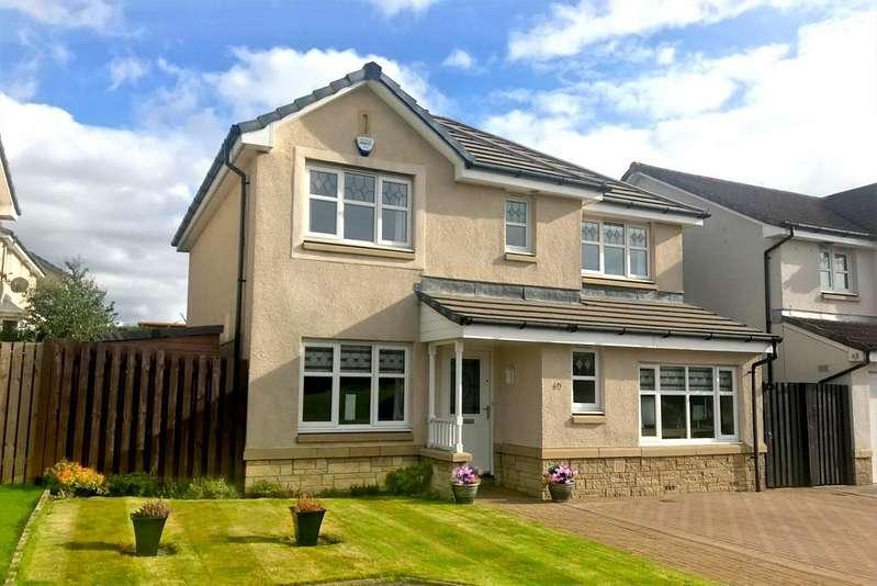 4 Bedrooms Detached House for sale in 40 Burns Avenue, Larbert, Stirlingshire FK5 4FB