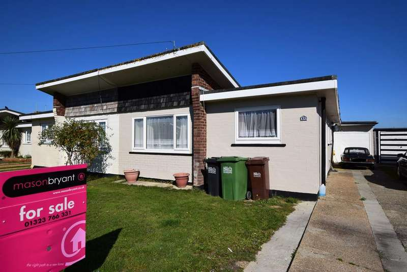 3 Bedrooms Semi Detached Bungalow for sale in Sunset Close, Pevensey Bay BN24