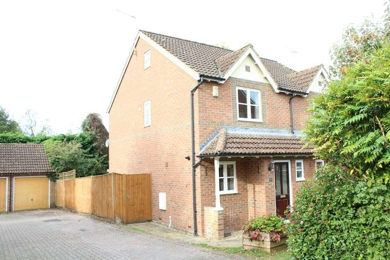 3 Bedrooms Semi Detached House for sale in Hamblin Meadow, Eddington, Hungerford RG17