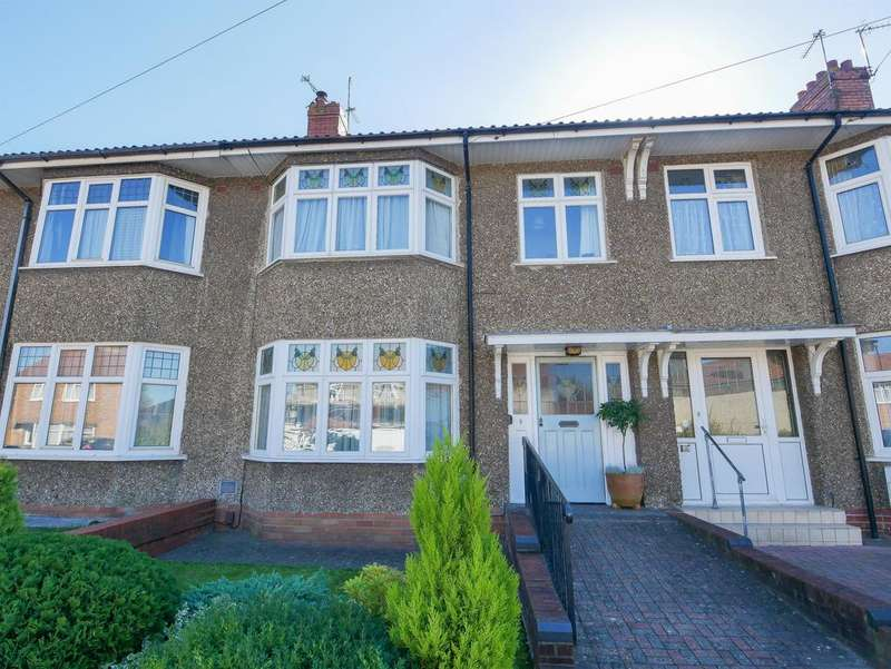 3 Bedrooms Terraced House for sale in Melbury Road, Knowle, Bristol, BS4 2RR