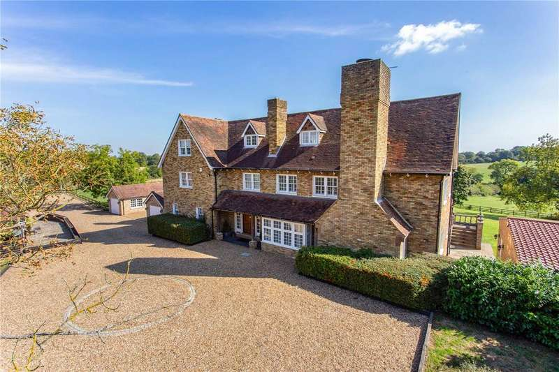 5 Bedrooms Detached House for sale in Epping Green, Hertford, SG13