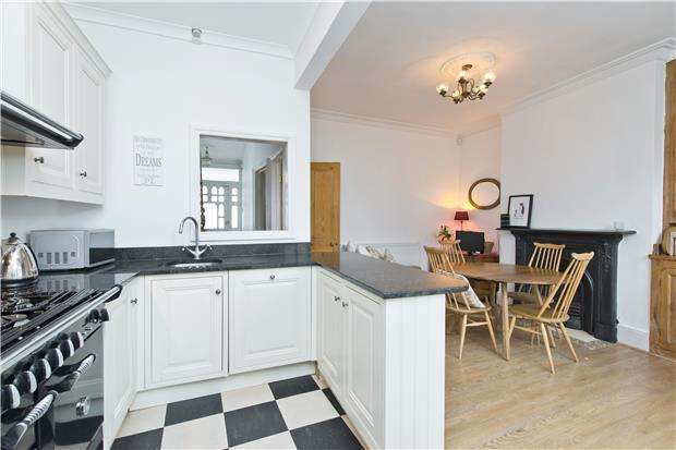 4 Bedrooms Terraced House for sale in Melrose Avenue, LONDON, SW19 8BX