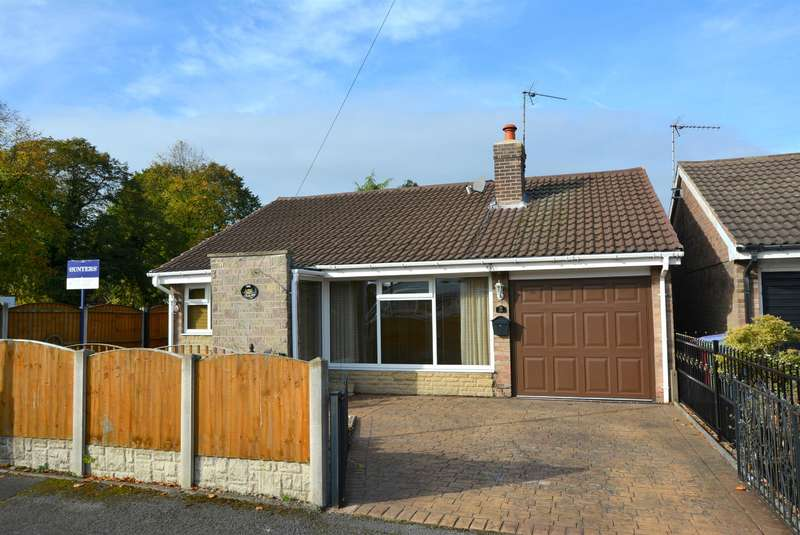 2 Bedrooms Detached Bungalow for sale in Churchland Avenue, Holmewood, Chesterfield, S42
