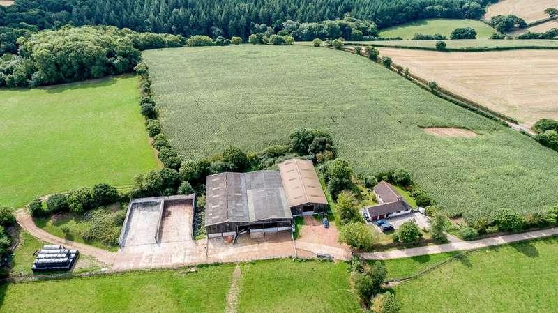 3 Bedrooms Farm Commercial for sale in Lot 4 - Sharlands Farm, Bremridge, Crediton, Devon