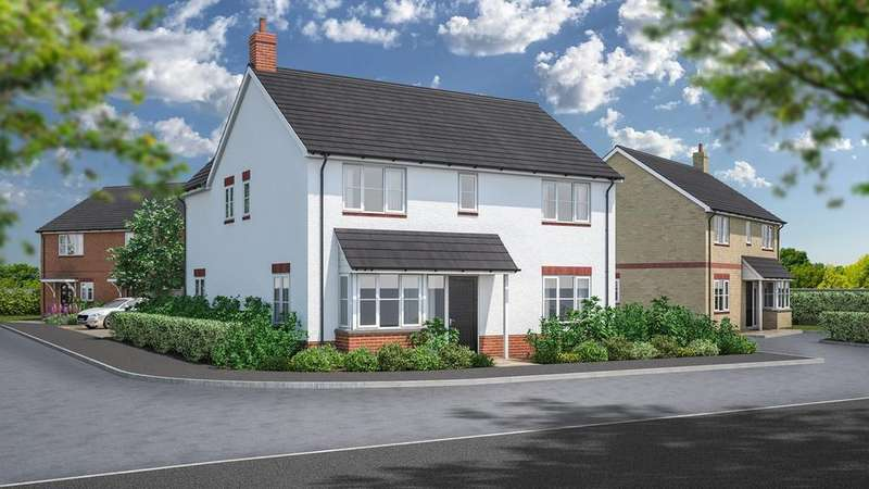 4 Bedrooms Detached House for sale in Rook Tree Lane, Stotfold, Hitchin, SG5