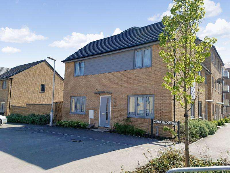 3 Bedrooms Semi Detached House for sale in Maple Square, Kingsway, Dunstable