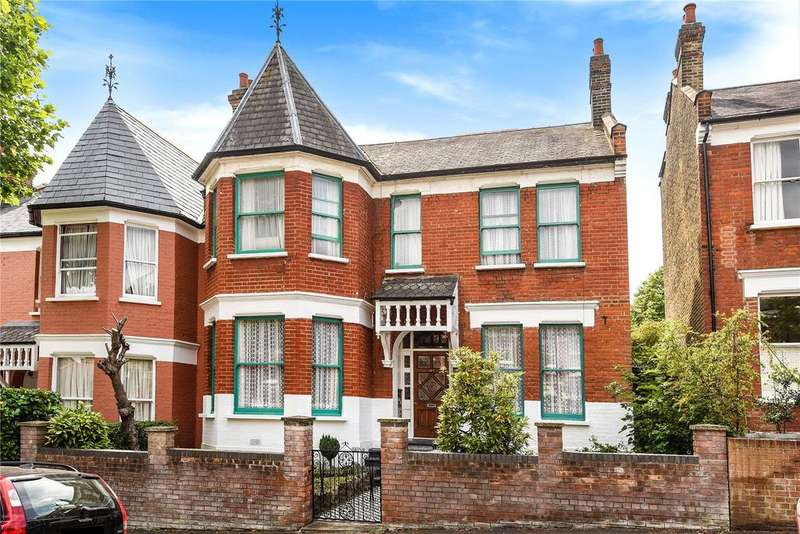 5 Bedrooms Semi Detached House for sale in Stapleton Hall Road, Crouch End, London, N4