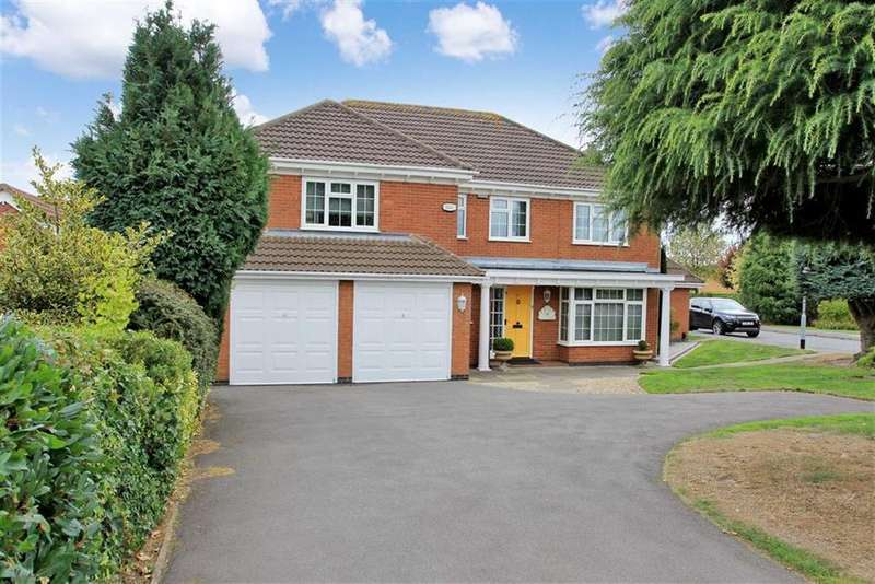 5 Bedrooms Detached House for sale in Beggars Lane, Leicester Forest East, Leicester