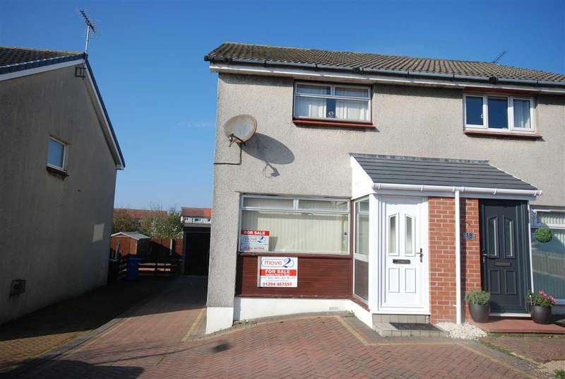 2 Bedrooms Semi Detached House for sale in Greenacres, Ardrossan