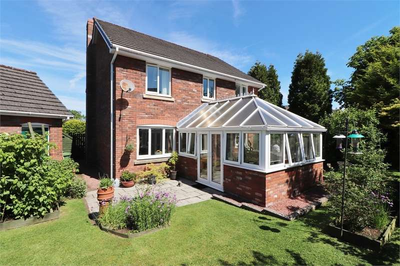 4 Bedrooms Detached House for sale in CA8 1EB Irthing Park, Brampton, Cumbria