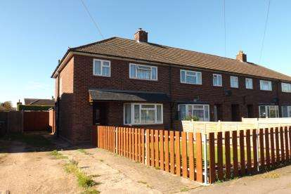 3 Bedrooms End Of Terrace House for sale in Belam Way, Sandy, Bedfordshire