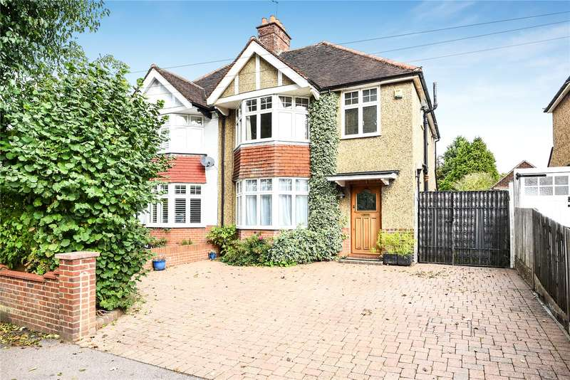 3 Bedrooms Semi Detached House for sale in Cassiobury Park Avenue, Watford, Hertfordshire, WD18