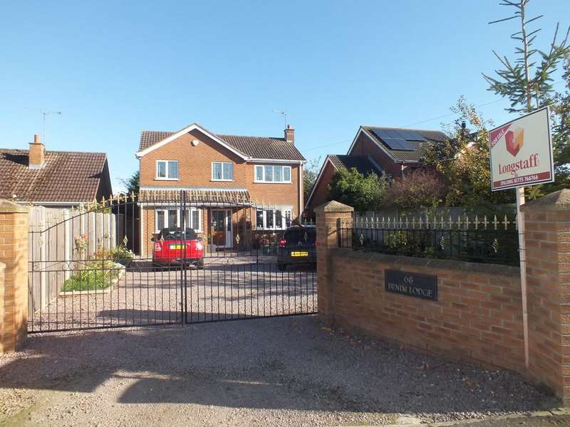 5 Bedrooms Detached House for sale in Old Main Road, Fosdyke