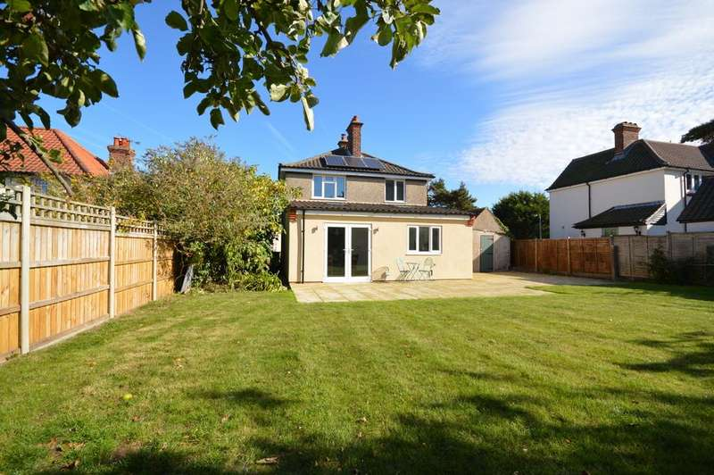 4 Bedrooms Detached House for sale in Common Lane, Sheringham, Norfolk