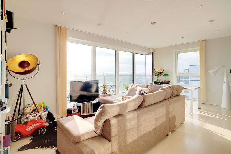 2 Bedrooms Flat for sale in Lantana Heights, 1 Glasshouse Gardens, Stratford, London, E20
