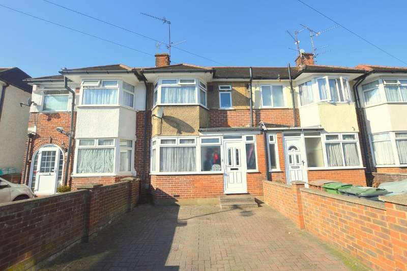 3 Bedrooms Terraced House for sale in Willow Way, Luton, Bedfordshire, LU3 2SA