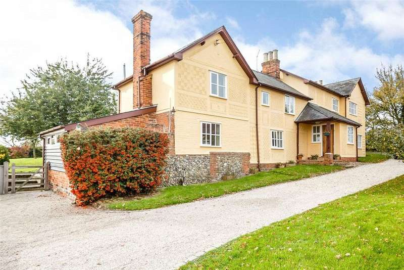 4 Bedrooms Detached House for sale in Thaxted Road, Little Sampford, Saffron Walden, CB10