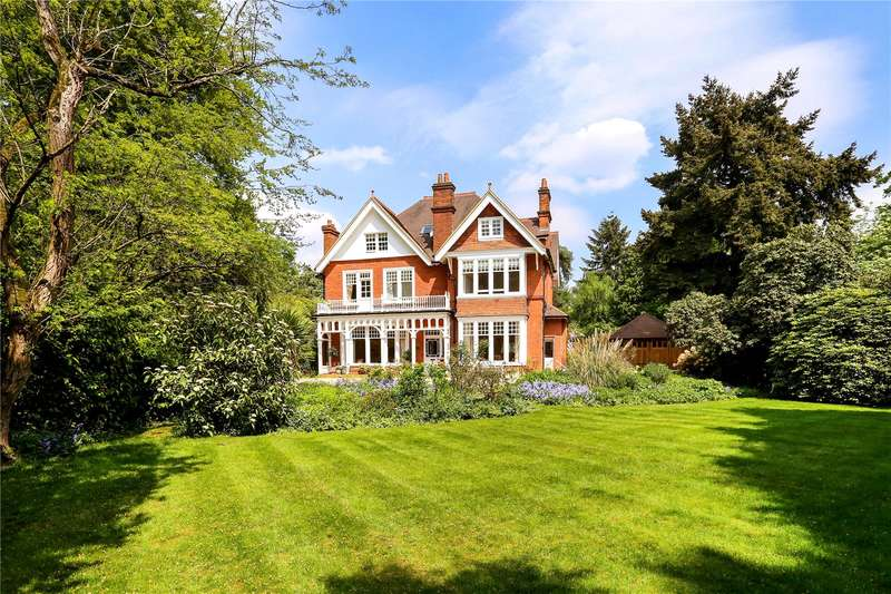 5 Bedrooms Detached House for sale in Branksome Park Road, Camberley, Surrey, GU15