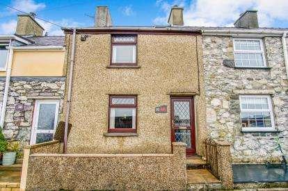 2 Bedrooms Terraced House for sale in Bron Eryri Terrace, Rhosgadfan, Caernarfon, LL54