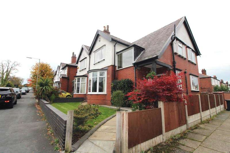 3 Bedrooms Semi Detached House for sale in New Hall Lane, Bolton
