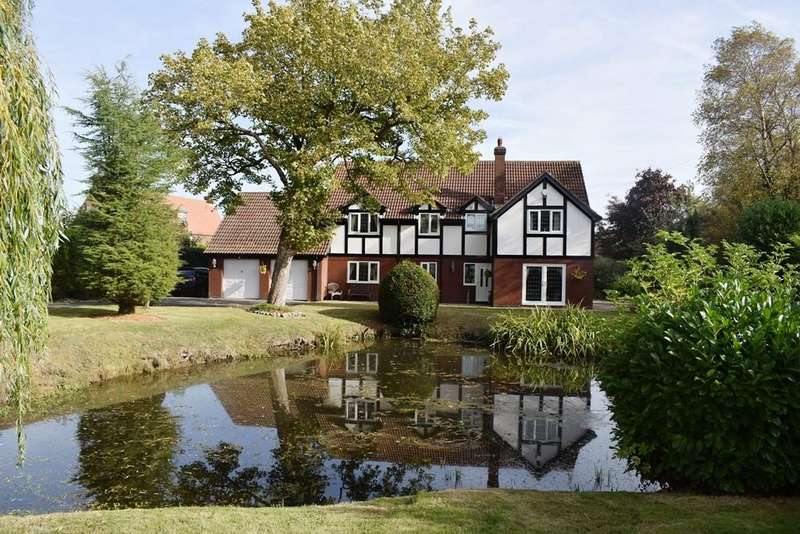 5 Bedrooms Detached House for sale in Langham House, Covenham St. Mary