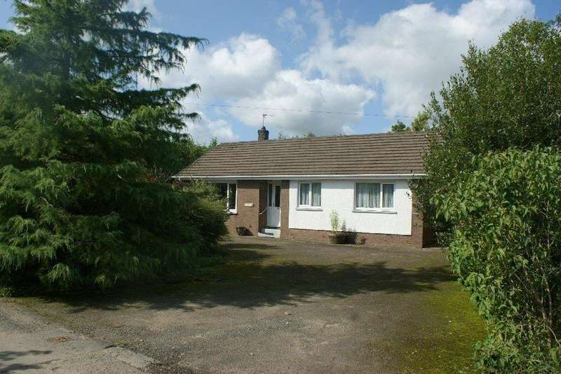 3 Bedrooms Detached Bungalow for sale in Maesycrugiau, Carmarthenshire SA39