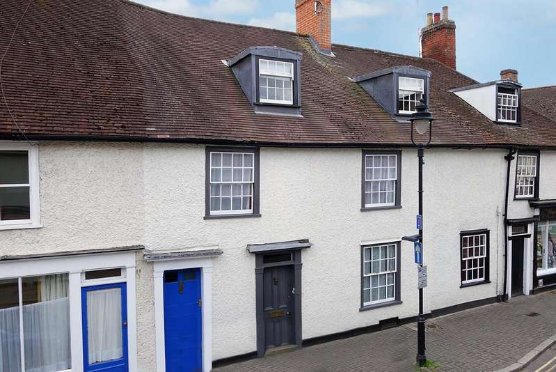 4 Bedrooms Terraced House for sale in Churchgate Street, Bury St Edmunds