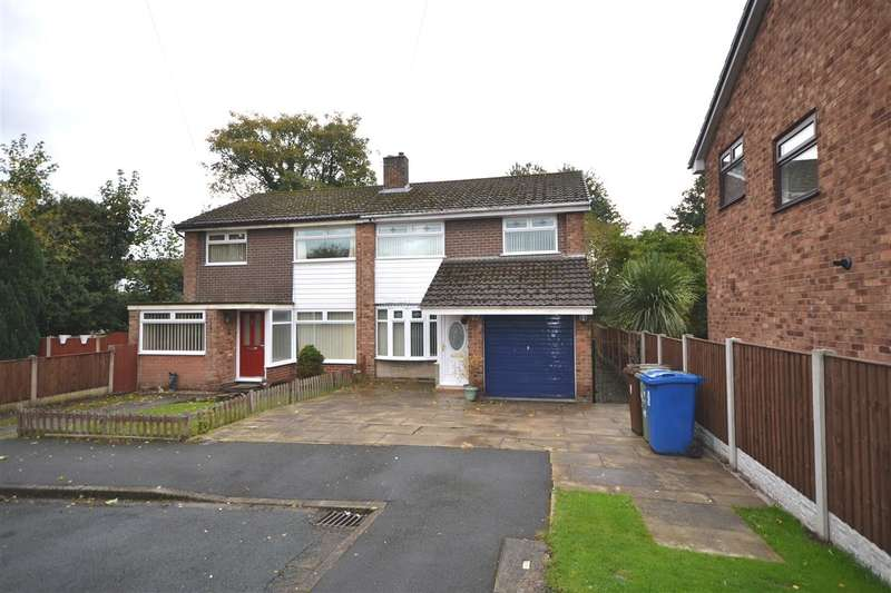 3 Bedrooms Semi Detached House for sale in Gawsworth Rd, Golborne, Warrington