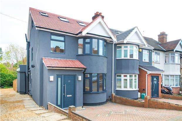 6 Bedrooms Semi Detached House for sale in Church Drive, KINGSBURY, NW9 8DN