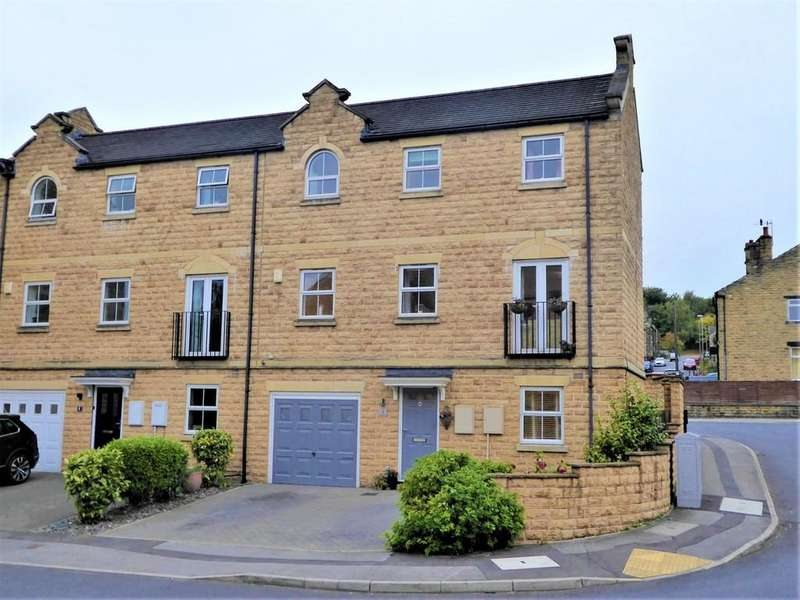 3 Bedrooms Semi Detached House for sale in Narrowboat Wharf, Rodley