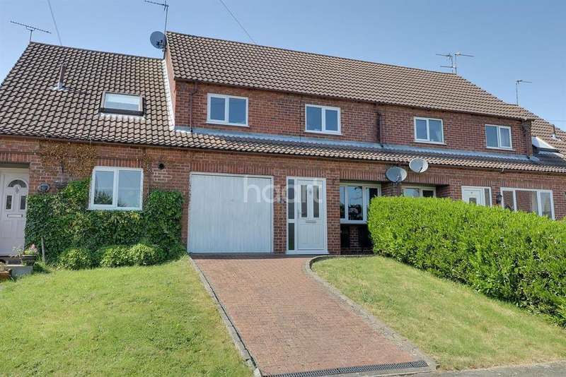 3 Bedrooms Terraced House for sale in Hazelwood Drive, Grantham
